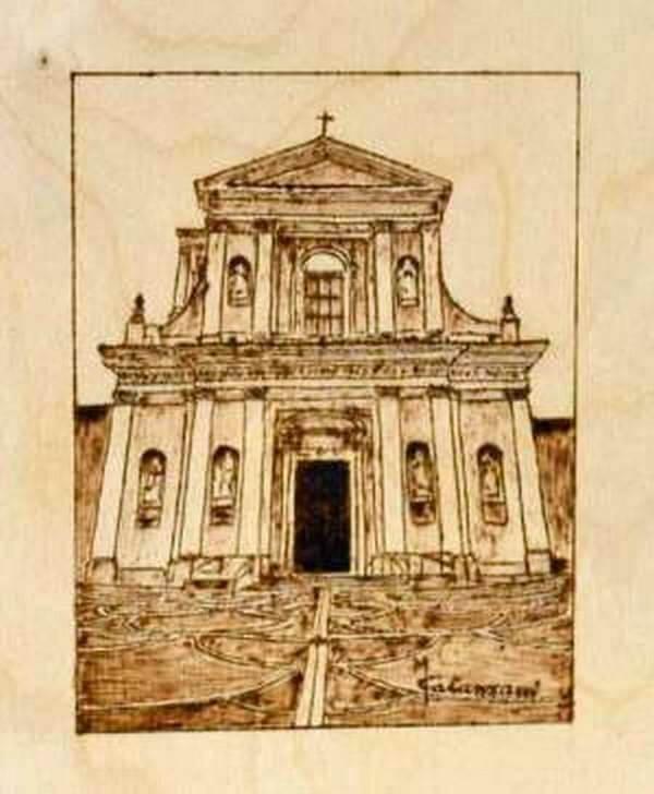 Pirografia di Maurizio Catanzani